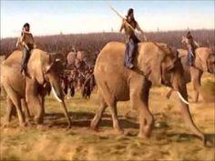 Hannibal: Rome's Worst Nightmare Battle of Zama scene Army Pics, Punic Wars, Ap World History, Byzantine, Teaching Ideas, Rome, Battle, Elephant, Scene