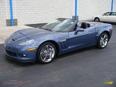 corvette america | 2011 Chevrolet Corvette Grand Sport Convertible in Supersonic Blue ...