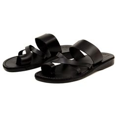 Jerusalem Sandals Ben - The Jerusalem Sandals Ben is a Leather Sandal in its best form! This minimalist style is known as The Good Shepherd at Jerusalem Sandals HQ and is one of their best sellers. We're sure this will quickly become your go-to slip-on this season!