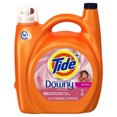Tide With A Touch of Downy April Fresh Liquid Laundry Detergent, 156 oz. - BJ's Wholesale Club