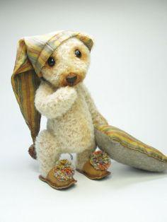Jonukas/Johny ‹ Rasa's cozy corner #artistbears #teddybears #handmade