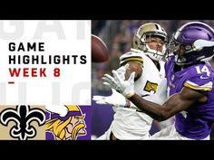 Saints vs. Vikings Week 8 Highlights  df6fb7efb