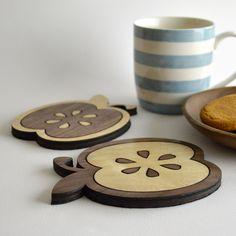 Apple Coasters - Set of 2 £10.00