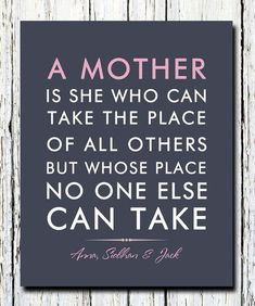 Beautiful Sweet Mother's Day Quotes | Easy DIY Gift Ideas for Mother's Day by DIY Ready at http://diyready.com/diy-gifts-mothers-day-quotes/: