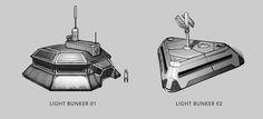 Bunker concepts by Hazzard65.deviantart.com on @deviantART