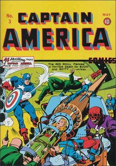 Captain America Issue 1 1941   Captain America Comics (1941) 3-A by Timely
