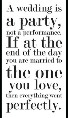 So true, only you know the details.  I tell all my brides this.