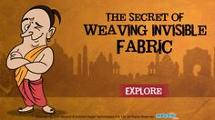 Read an interesting story about Tenali Raman and the secret of weaving invisible fabric. For more interesting #TenaliRaman #StoriesforKids, visit: http://mocomi.com/fun/stories/tenali-raman/
