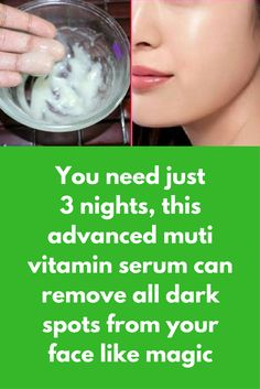 You need just 3 nights, this advanced muti vitamin serum can remove all dark spots from your face like magic We all use many product by just looking at advertisement but they are not good for all skin types and most of the times results are not as shown by brands in Ads. But today in this article we are going to tell you about one face pack that you can use daily for 10 …
