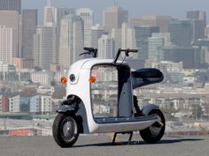 [VIDEO] Meet Kubo, The Crowdfunded Electric Cargo Scooter Made By Lit Motors—Taken for a spin;