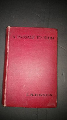 A Passage to India By E.M. Forester First Edition/First Printing- 1924 by TheVintageVagabonds on Etsy