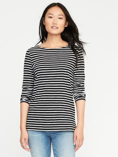 6357450b9 ON black and white tee size medium tall Long Sleeve Tee Shirts, Fall  Capsule Wardrobe