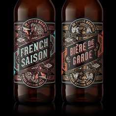 These Gorgeous Brews Embody Tradition and Experimentation — The Dieline - Branding & Packaging Design