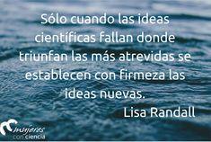 Lisa Randall @mujerconciencia