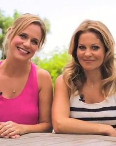 SO CUTE... LOVE THEM Candace Cameron Bure, Andrea Barber Talk Kids, Friendship, Full House - Us Weekly