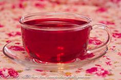 Love me a cup of mixed berry tea!