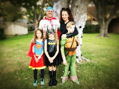 Superhero Halloween Fam