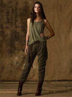 Ralph Lauren - Denim & Supply  Nice details in these pants...