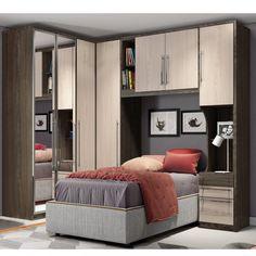 Room Set, Bunk Beds, Divider, Moka, Bedroom, Fendi, Furniture, Design, Home Decor