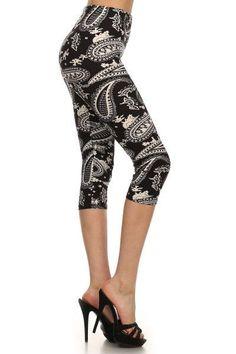 db32583af5934 13 Best Capri Leggings images | Capri leggings, Print Leggings ...