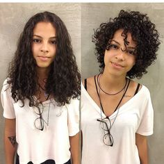 Short-Layered-Curly-Hair-Women Best Short Curly Hair Ideas in 2019 Haircuts For Curly Hair, Curly Hair Cuts, Short Hairstyles For Women, Afro Hairstyles, Pretty Hairstyles, Short Hair Cuts, Curly Hair Styles, Ladies Hairstyles, Pixie Haircuts