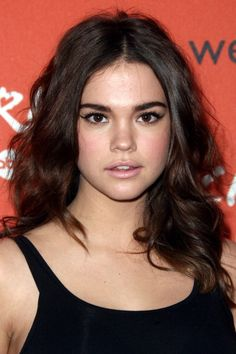 "Maia Mitchell at the launch party of ABC Family's ""Crush."" Makeup by Katey Denno."