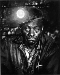 Toby Moore (now deceased), 1970 on his lunch break inside the mine @ Chattaroy, Mingo County, WV