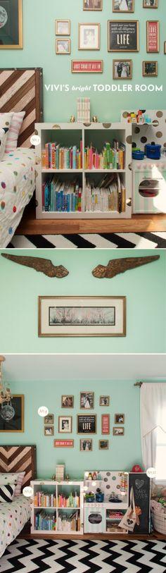 vivi's bright toddler room