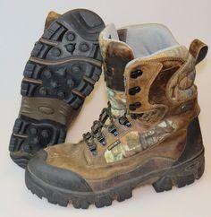 RED WING IRISH SETTER Big Game Tracker Thinsulate 800 Camo Boots Men's Size 12 #IrishSetter #HuntingBoots