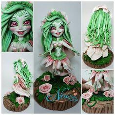 Flora flutuante! Uma ninfa elementar da natureza Flora, Fictional Characters, Nature, Craft, Ideas, Plants, Fantasy Characters
