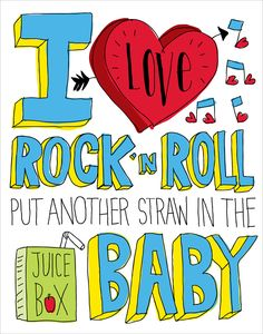 for the rock and roll nursery