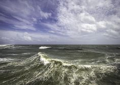 Storm surge waves from Isaac.