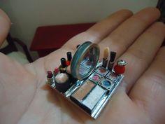 miniature make up set by MINISSU on Etsy, $8.99