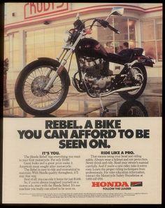 1986 Honda Rebel