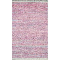 Found it at Wayfair - Rex Pastel Pink Area Rug