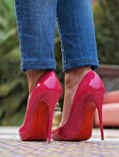 high heels #redstilettoheels