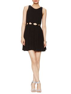 Cut Out Knit Dress by Renvy at Gilt
