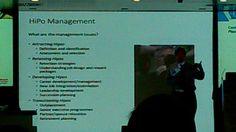 """Éstas son las características del HiPotential Management según Adrián Furnham, pero no es lo único que compartió con los asistentes:  """"El liderazgo es el camino, no el destino""""  """"El liderazgo se puede aprender con experiencia, con formación, con coaching y mentoring"""""""