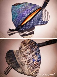 blue pouch jeans style Jeans Style, Pouch, Hats, Handmade, Blue, Fashion, Moda, Hand Made, Hat
