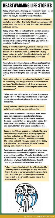 Beautiful heartwarming stories
