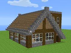 Minecraft village town house