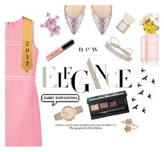 """""""Graduation Outfit"""" by infantilejoy ❤ liked on Polyvore featuring Victoria, Victoria Beckham, Jimmy Choo, Bobbi Brown Cosmetics, Marc Jacobs, Fallon, MAC Cosmetics, NARS Cosmetics and Michael Kors"""
