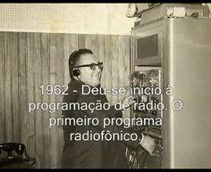 1962-MISSIONÁRIO DAVID MIRANDA INICIANDO A RÁDIO A VOZ DA LIBERTAÇÃO!