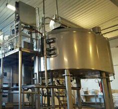 Cuba de cuajar de queso de 7.000 litros