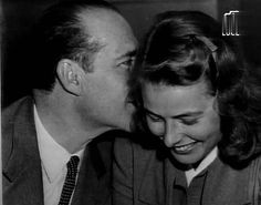 Roberto Rossellini and Ingrid Bergman