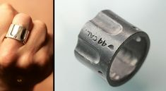replica of a 44 cal revolver chamber ring.