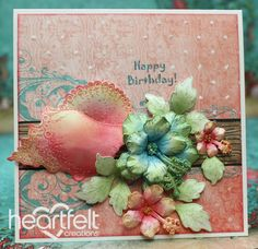 Heartfelt Creations | Hibiscus And Seashell Card