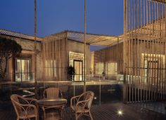 Gallery of Bamboo Courtyard Teahouse / Harmony World Consulting & Design - 3