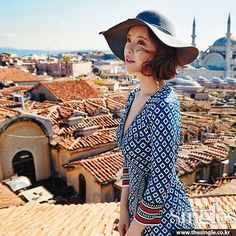 Singles' May 2015 Issue Feat. Hwang Jung Eum In Istanbul | Couch Kimchi