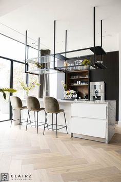 Enkhuizen Kitchen Bar Design, House Design, Interior Design, Sweet Home, Interior, Kitchen Bar, Basic Kitchen, Bar Design, Furniture
